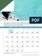 Calendário Feminista 2018