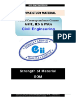 Gate Ies Postal Studymaterial for Strength of Material Civil