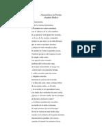 Alocucion a La Possía