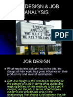Job Design & Job Analysis