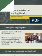 Quem Precisa de Apologética