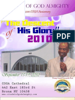 Descent of His Glory ( CAC Wosem Bronx 2010 Anniversary)