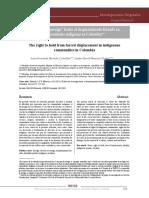 Artículo Universidad La Gran Colombia - Revista INCISO Indexada Categoría C Colciencias