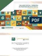 Balance Social y Memoria de Sostenibilidad Cooprogreso 2015