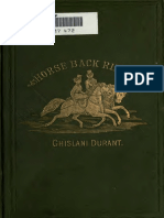 Durant - Horseback Riding From Medical Point of View - 1857