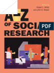 A Dictionary of Key Social Science Research