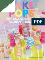 Cake Pops - Piruletas de Bizcocho, Adornos y Tartas - Clare O_Connell.pdf