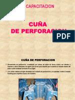 CUÑAS PERFORACIÓN