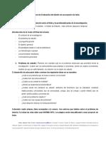 Pérez, A (2016) Orientaciones en el diseño de un proyecto de tesis (2)