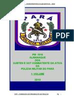 Almanaque de Sub Ten e Sargentos Pm