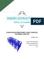 Proyecto Hotel La Caleña