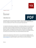 cover letter template 1 - yx