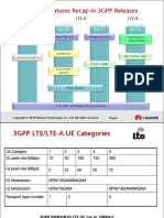 LTE-A Main Features Recap in 3GPP Releases