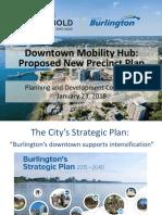 City of Burlington Downtown Mobility Hub Plan — Jan. 23, 2018 presentation