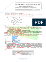 Ficha de Trabalho - A Península Ibérica Na Europa e No Mundo (3) - Soluções
