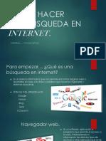Como Hacer Una Busqueda en Internet