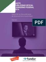 Publicidad Oficial Gobierno Federal 2014