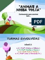 animaisanossavolta2013-131217054933-phpapp01.ppsx