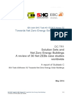 Solution Sets and Net Zero Energy Buildings