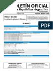 Boletin oficial Republica Argentina - Año CXXVI Número 33.799