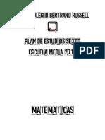 Plan Estudios Escuela Media Sexto 2018