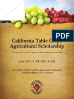 ca table grape scholarship