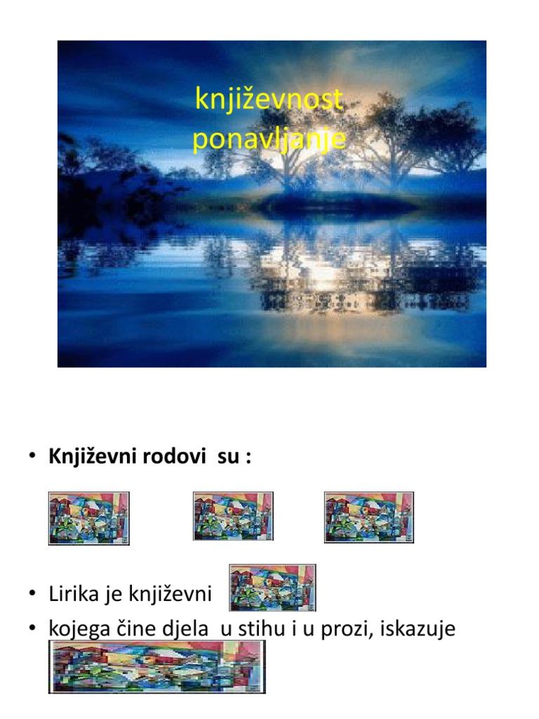 Knjiľevnost 6 R Ppt