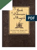 Poke Runyon - Book of Solomons Magick.pdf