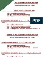 1. I Percorsi Dell'Analisi Finanziaria - Coordinamento Indici