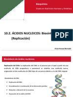 10.2 Ácidos Nucleicos Replicación_ Castellano