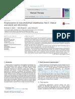 Proprioception in Musculoskeletal Rehabilitation2 (1)