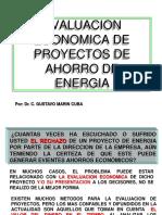 Evaulacion Economica de Proy de Ahorro de Energia