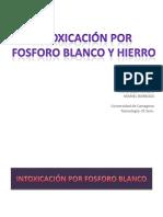 10 Intoxicacionporhierroyfosforoblanco 130217222233 Phpapp01