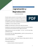Programación y Reproducción