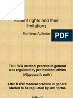 Patient Rights and Their Limitations_2013