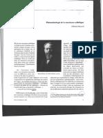 Husserl, Phénoménologie de La Conscience Esthétique