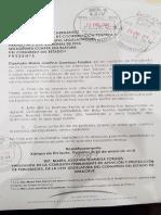 Maryjose Gamboa se pronuncia contra agresiones de  Basilio Picazo