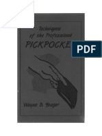 Wayne B Yeager-Techniques of the Professional Pickpocket