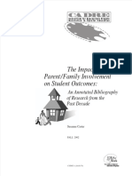 Impact Family Involvement
