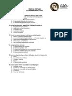 TEST de REPASO 2015 Economia Monetaria