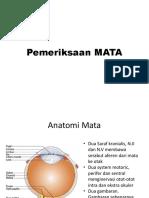 Pemeriksaan MATA