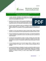 Cifras del sector agroindustrial de la caña de azúcar colombiano y la producción de BioEtanol a base de caña de azúcar