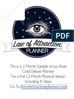 Lawofattractionplanner 1month Trial of Year Planner Am