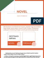 Latihan Novel -Perwatakan