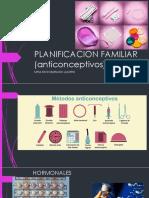 Planificacion Familiar (Anticonceptivos)