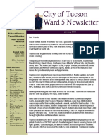 Tucson Ward 5 Newsletter - January 2018