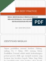 Laporan Best Practice