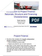 Project Financing Contracts 1