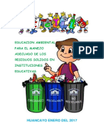 Proyecto Educacion Ambiental