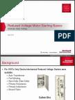 Reduced Voltage Motor Starting Basics Training Presentation